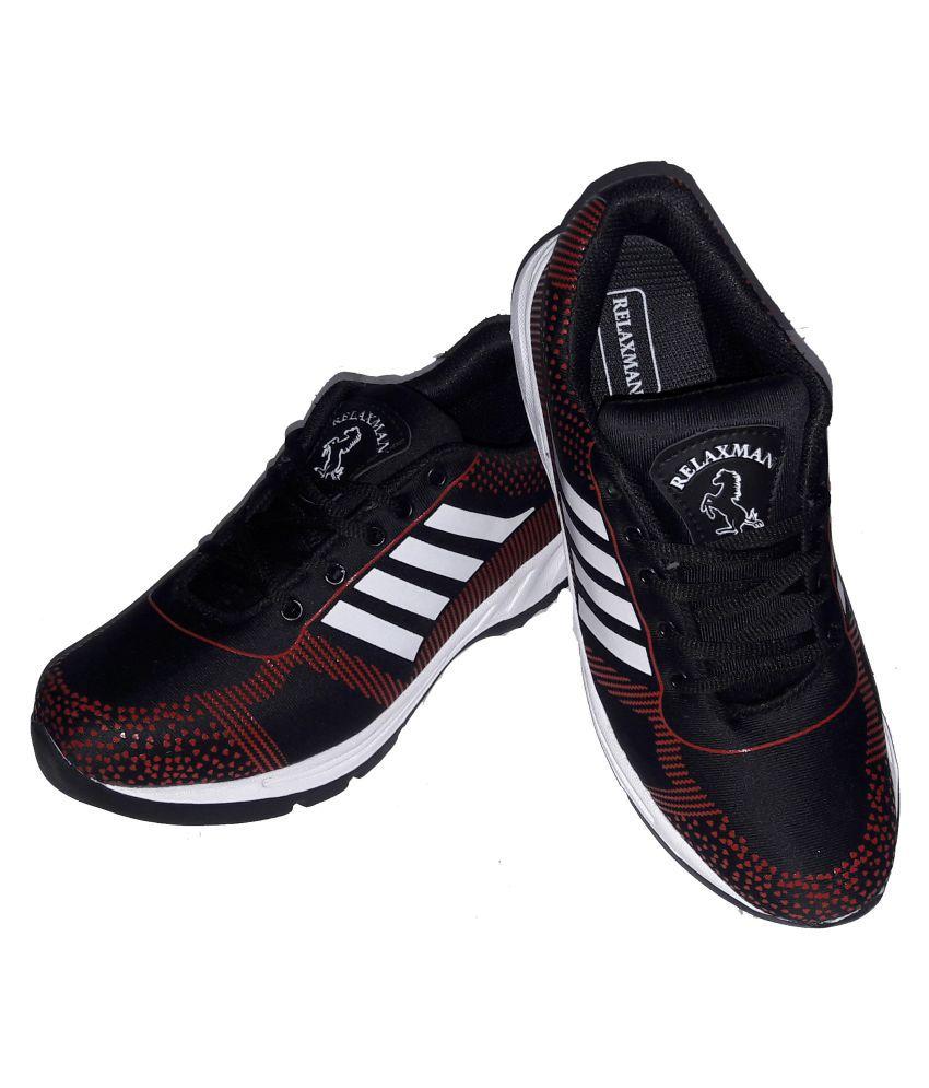 Relaxman SULTAN02 Black Running Shoes