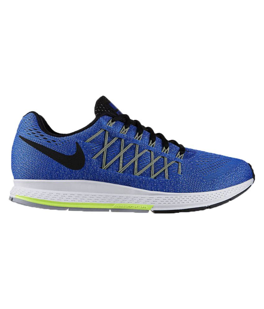 nike zoom pegasus 32 blue running shoes buy nike zoom pegasus 32 blue running shoes online at. Black Bedroom Furniture Sets. Home Design Ideas