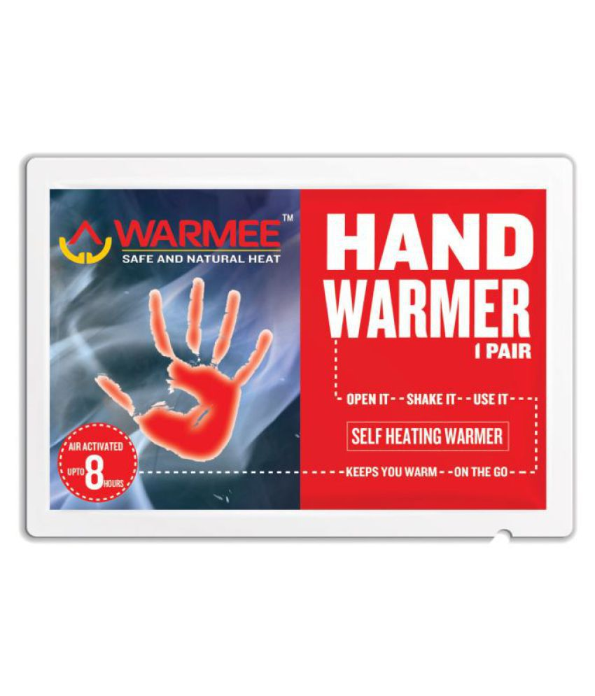 Warmee BODY AND HAND WARMERS COMBO (PACK OF 10 +6) Warmer and Heating Pouch