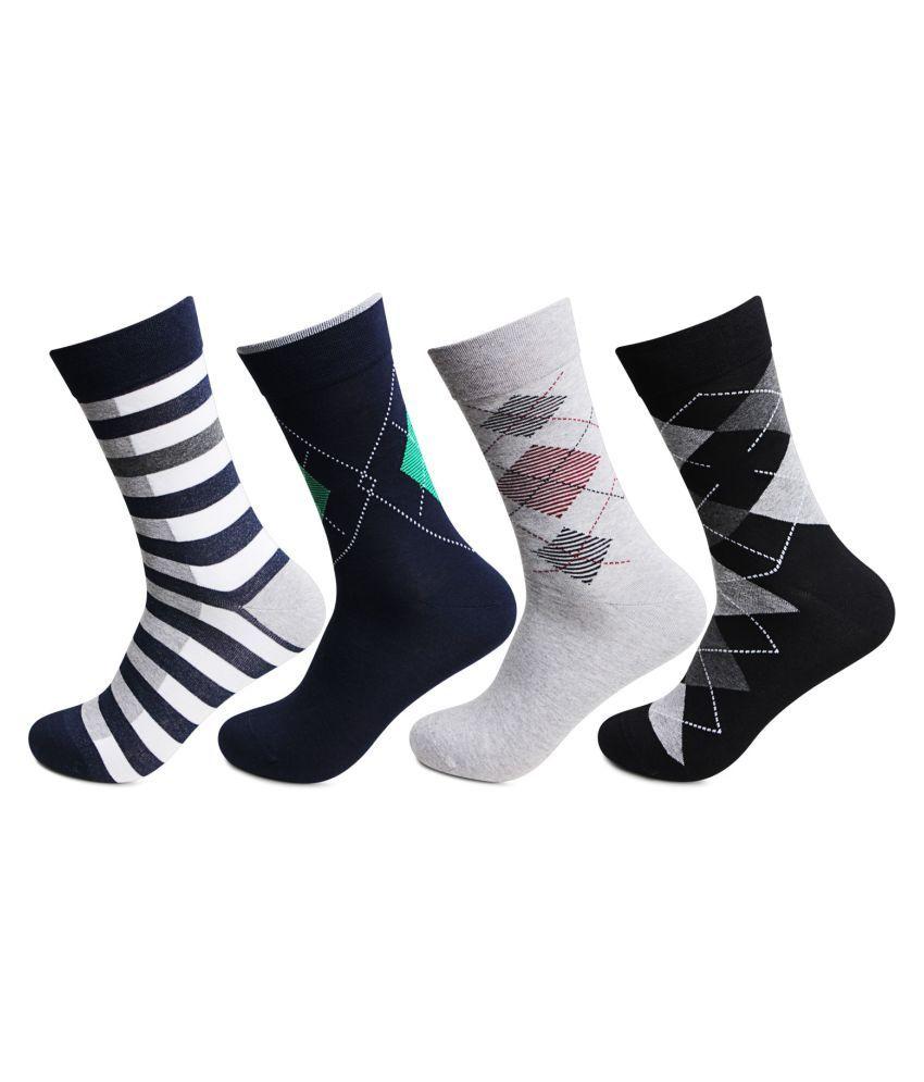 Bonjour Multi Casual Full Length Socks