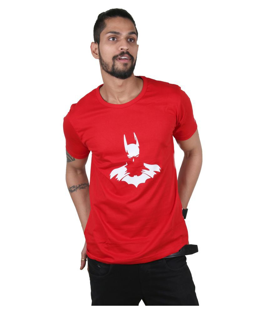 Ditto Red Round T-Shirt
