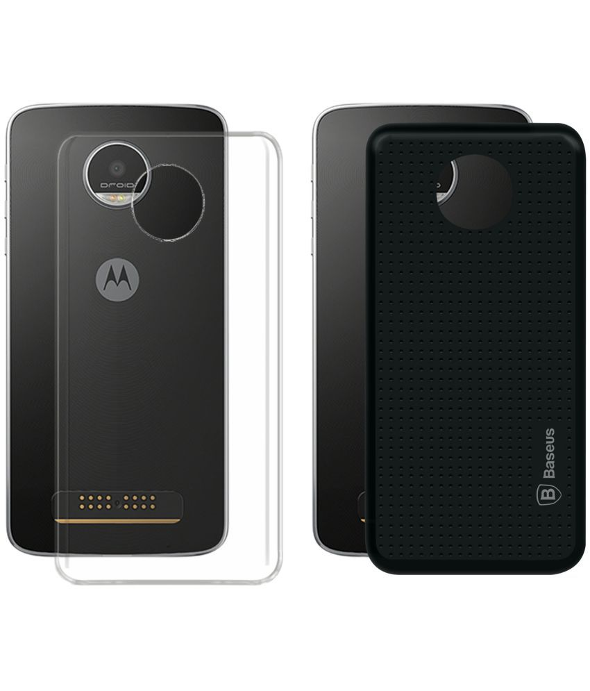 Moto Z Play Cover Combo by Deltakart