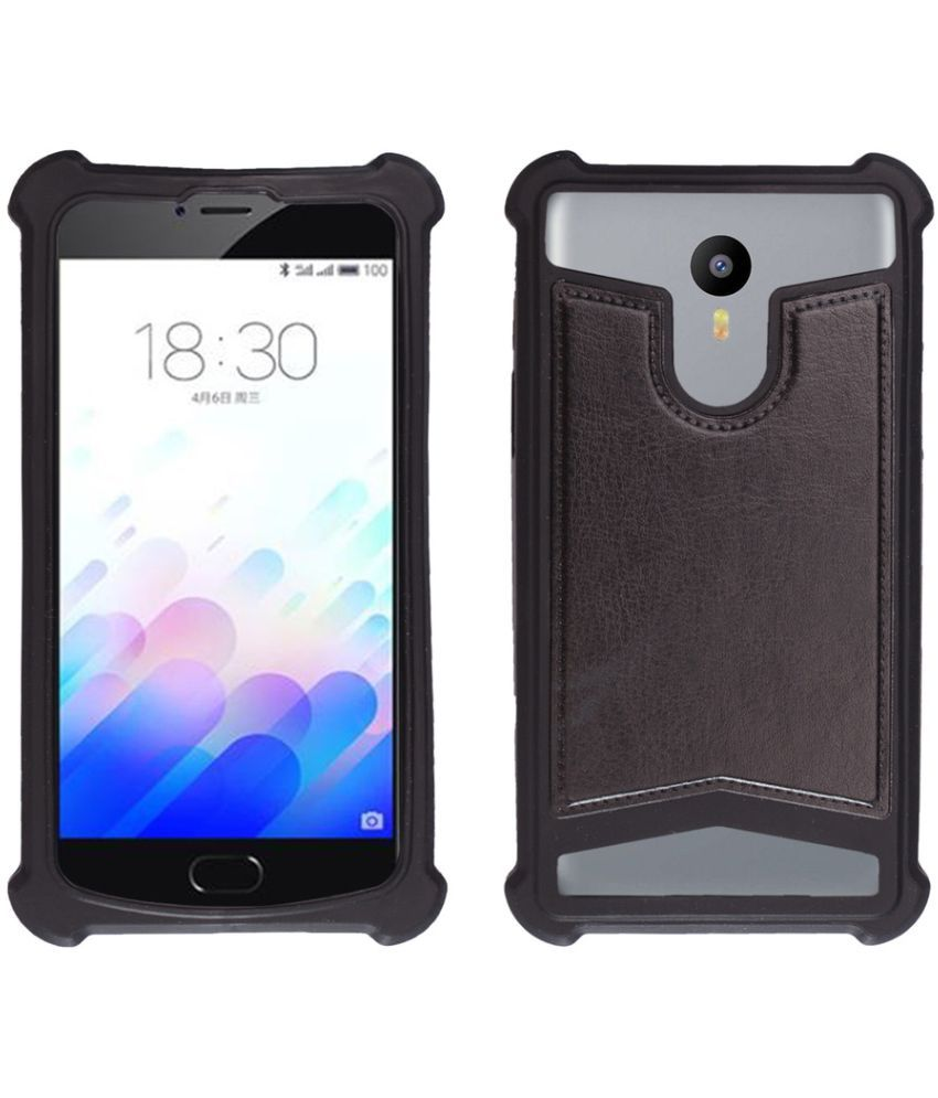 quality design 613a7 d5e55 Micromax Vdeo 2 Q4101 Shock Proof Case Shopme - Black