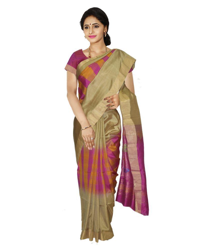 Kaushika Sarees Multicoloured Silk Saree