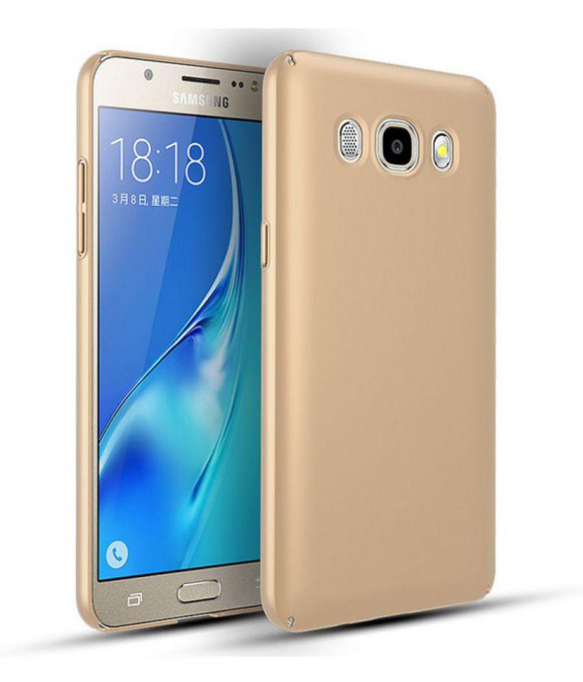 Samsung Galaxy J5 Prime Plain Cases JMD - Golden