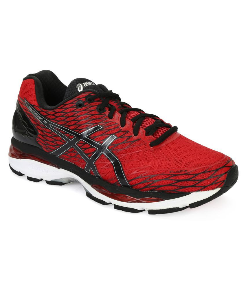 asics gel nimbus 18 2e red running shoes buy asics gel nimbus 18 2e red running shoes. Black Bedroom Furniture Sets. Home Design Ideas