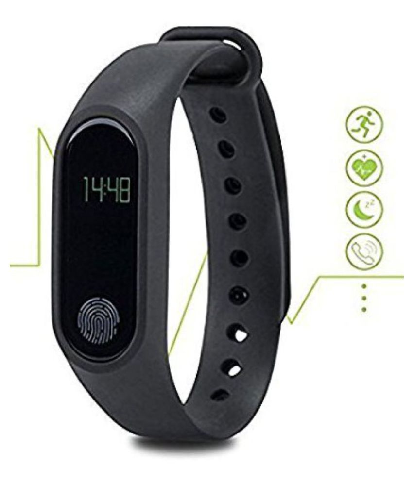 679d6ea4c9c ... Bingo M-2 Waterproof Heart Monitoring Fitness Smart Band (Compatible  with all Android ...