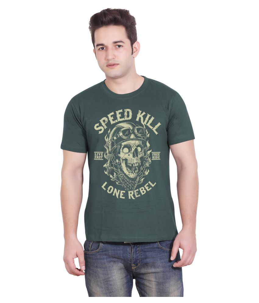 Tantra Green Round T-Shirt