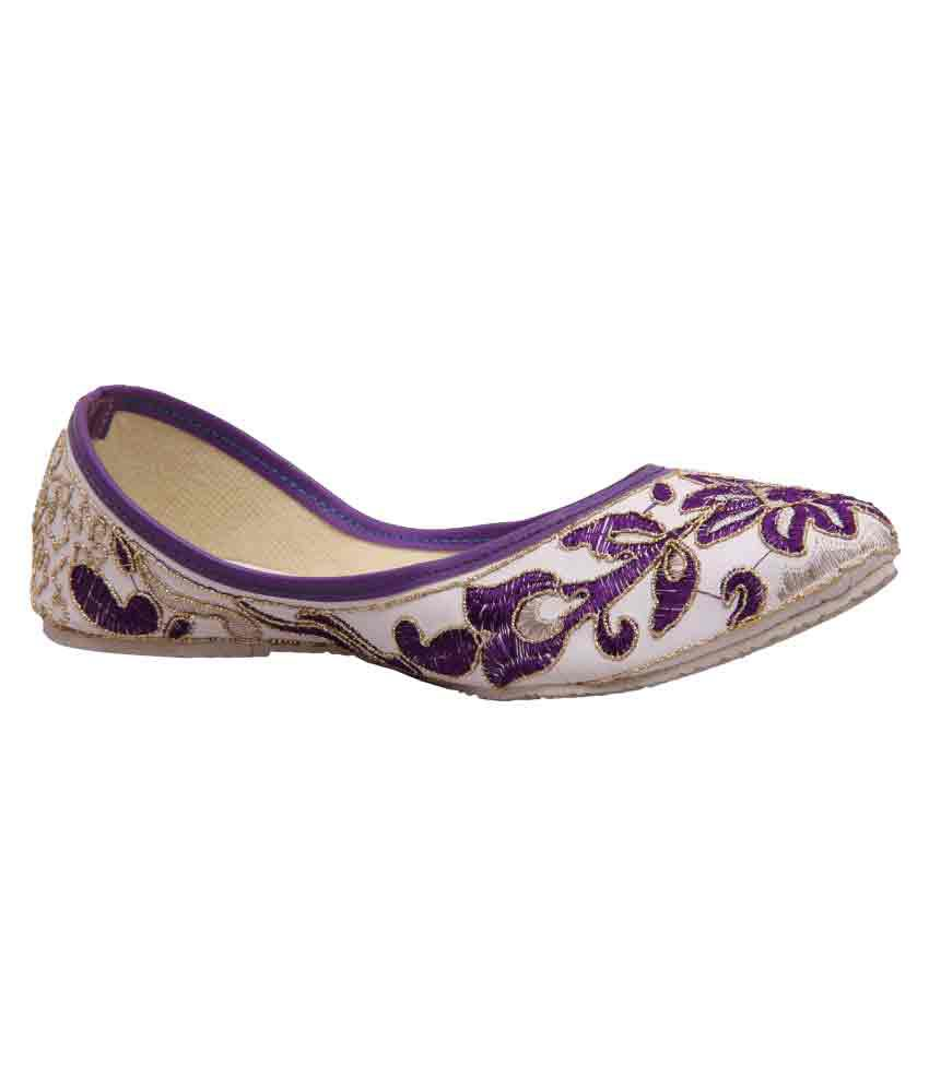 Fashbeat Multi Color Flat Ethnic Footwear