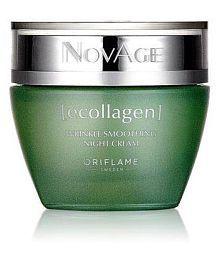 Oriflame NovAge Ecollagen Wrinkle Smoothing Night Cream Oriflame Night Cream 100 Gm Ml