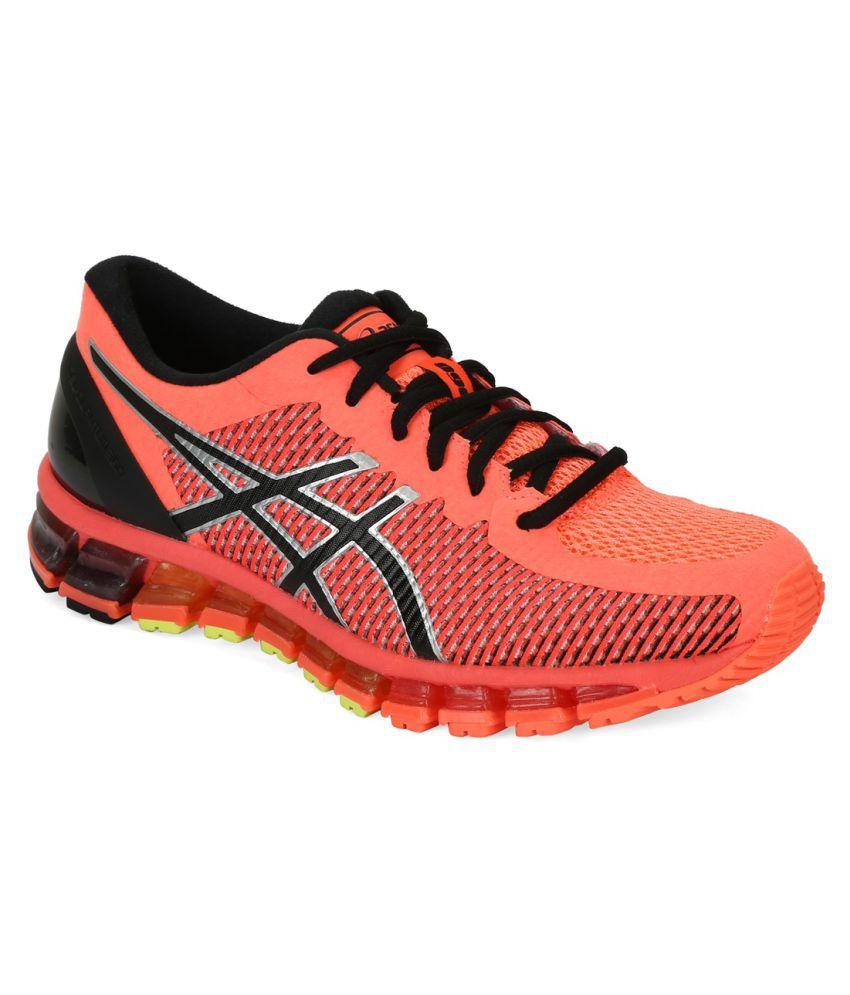 nouveau style 41370 288c4 Asics GEL-QUANTUM 360 2 Orange Running Shoes