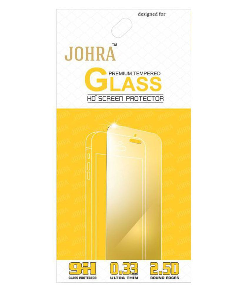 Lenovo A6600 Tempered Glass Screen Guard By Johra
