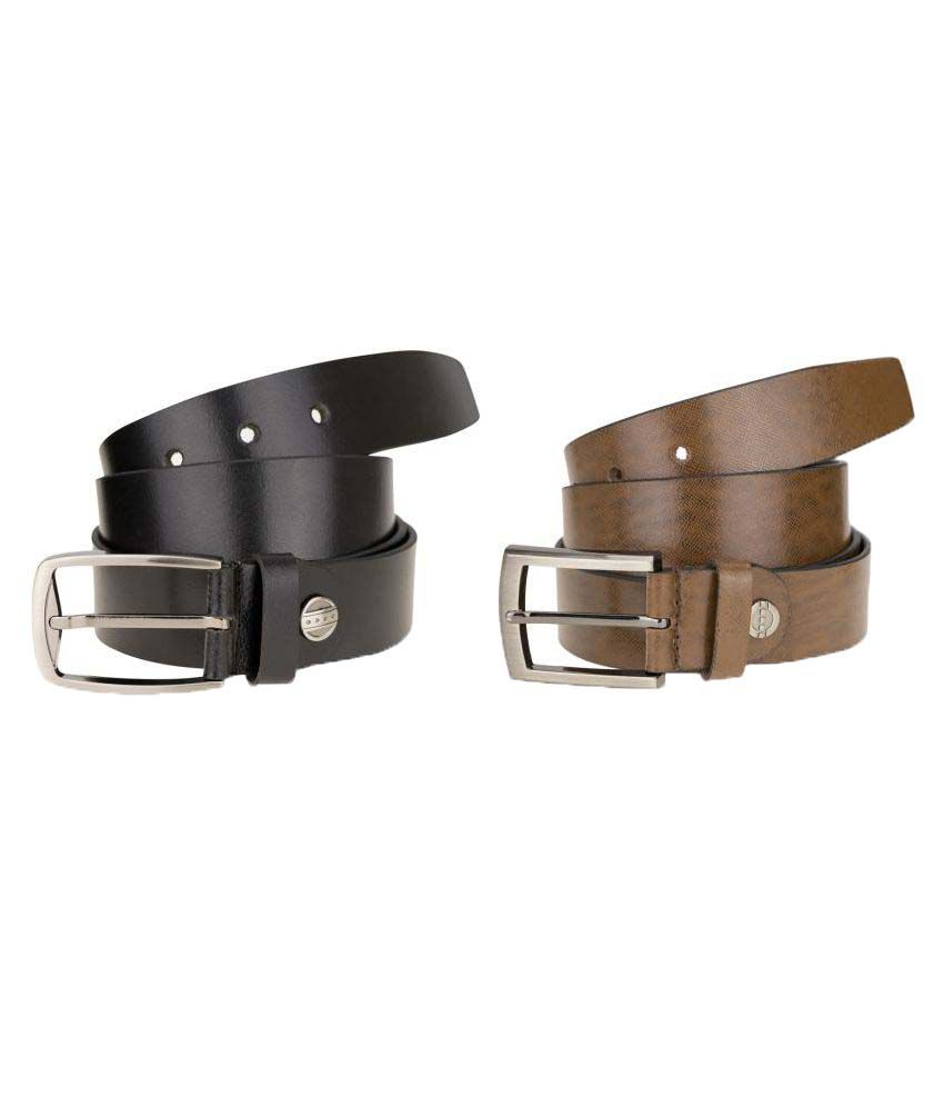 Kaos Multicolour Leather Formal Belts