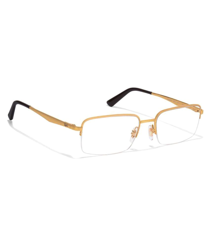 Ray-Ban Golden Square Spectacle Frame - Buy Ray-Ban Golden Square ...