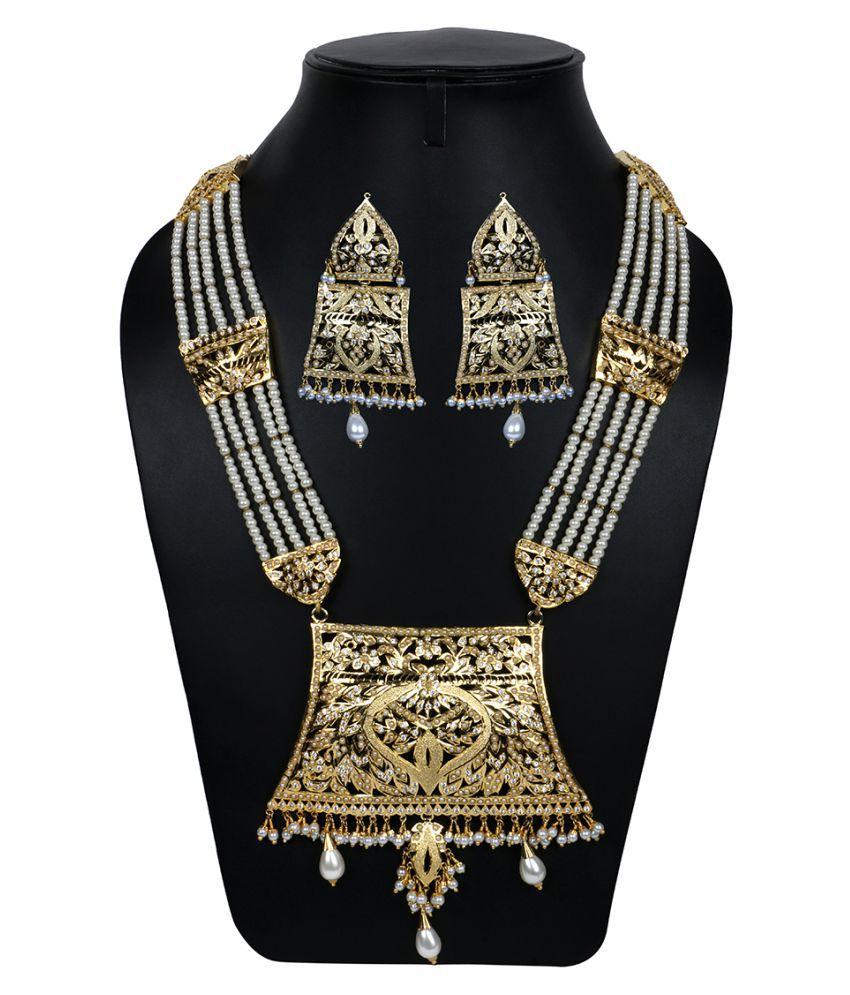 Krupam Gold Handcrafted Necklaces