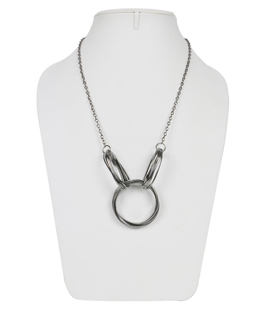 Krupam Silver Necklace