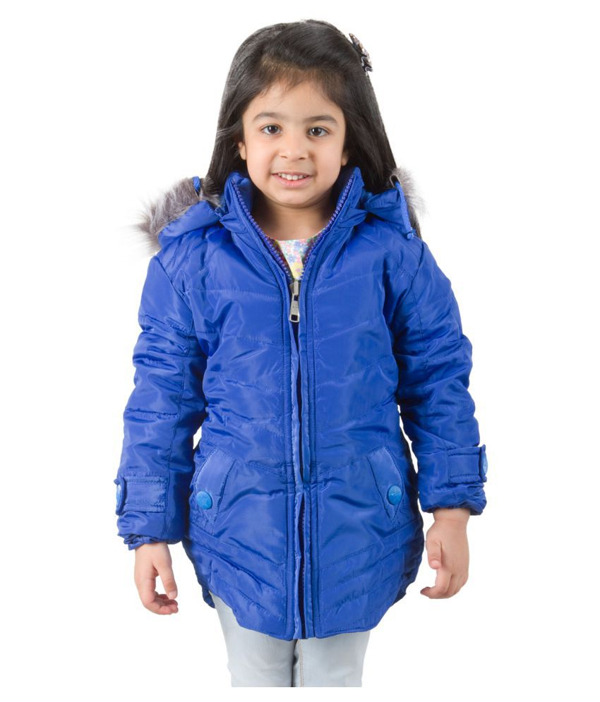 Burdy Blue Nylon Jacket