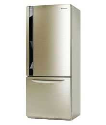 Panasonic 407 Ltr Inverter Compressor BW415VNX4 Double Door Refrigerator - Champagne