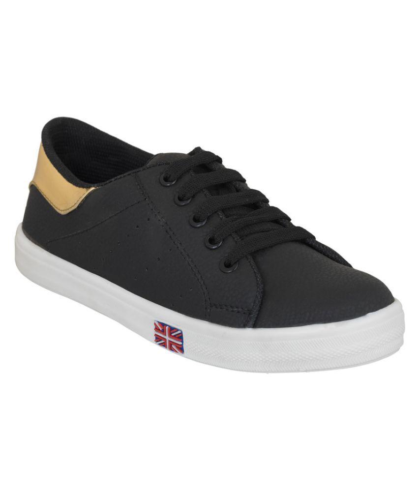 NE Shoes Black Sneakers