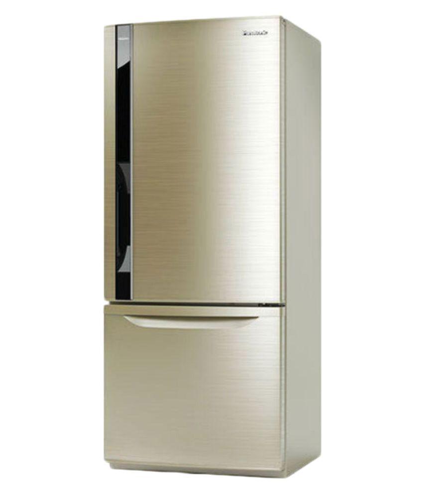 Panasonic 407 Ltr Inverter Compressor Bw415vnx4 Double Door Matsushita Electric Shaver Es Rt74 S Refrigerator Champagne