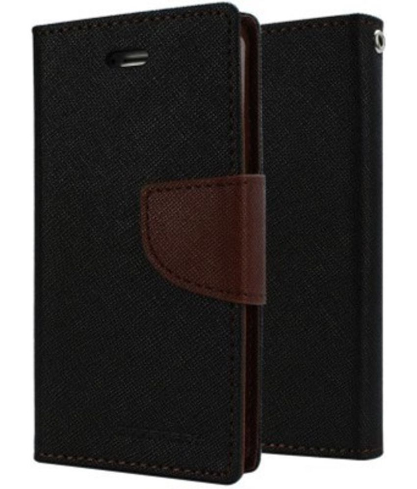 super popular 3f75f 3608e Vivo Y21L Flip Cover by Om - Brown