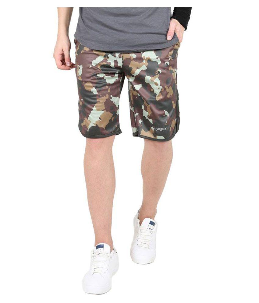 Camo Print Crossfit Shorts