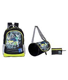 Avon Waterproof Backpack in Multi School Bag Combo (set of 3)