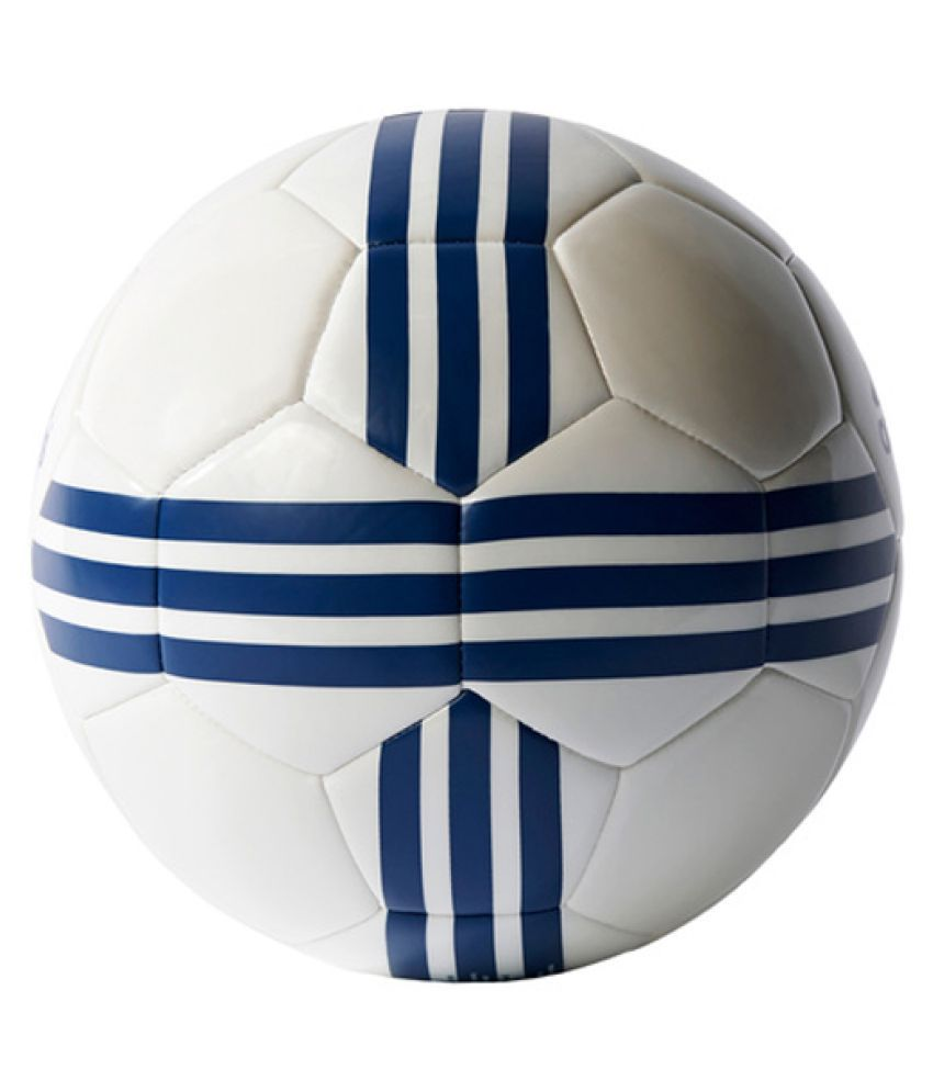 lowest price 7fe2c ac6f6 Adidas Real Madrid White Football / Ball Size- 5