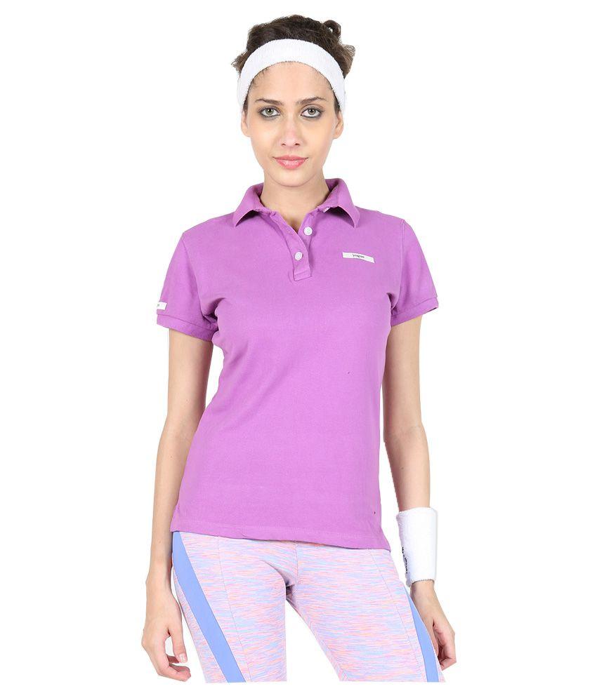 Yogue Purple Polo T-Shirt