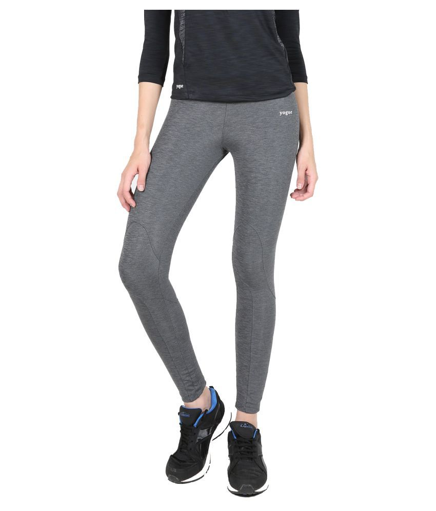 Yogue Grey Blend Leggings
