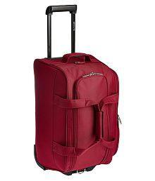 Pronto Maroon Solid Duffle Bag