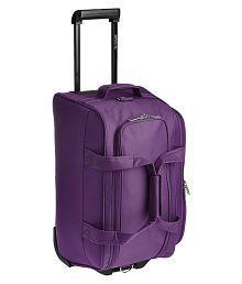 Pronto Purple Solid Duffle Bag