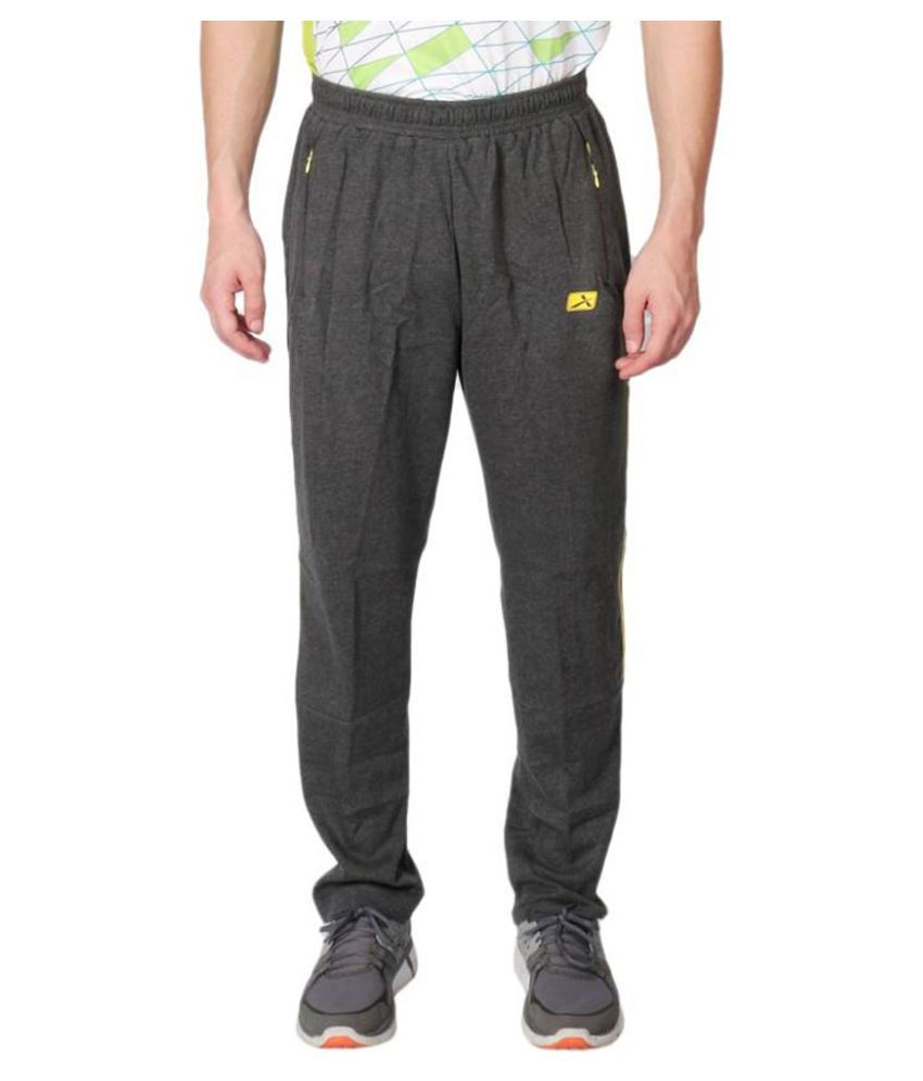 Vector X VL-1000-E Cotton Men's Grey Track Pant
