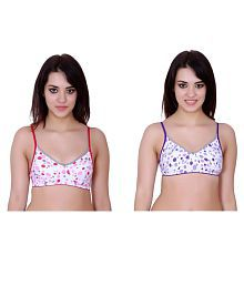 Tip Top Collection Cotton Lycra T-Shirt Bra