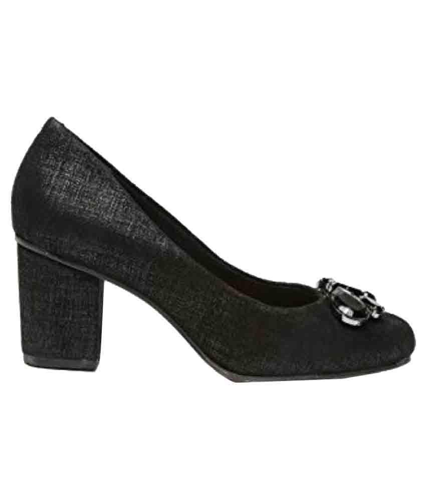Clarks Black Heels