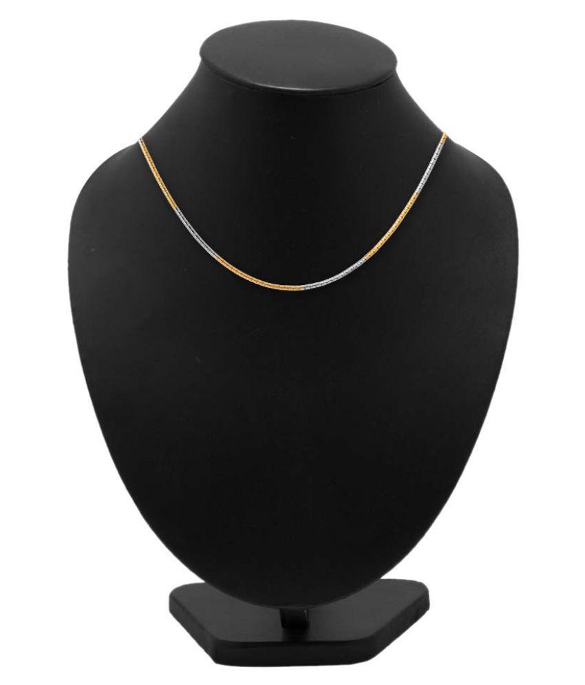 Dare Multicoloured Brass Chain