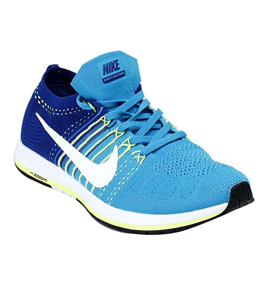 c1487421be110 Nike Zoom Flyknit Streak Blue Training Shoes - Buy Nike Zoom Flyknit Streak  Blue Training Shoes Online at Best Prices in India on Snapdeal