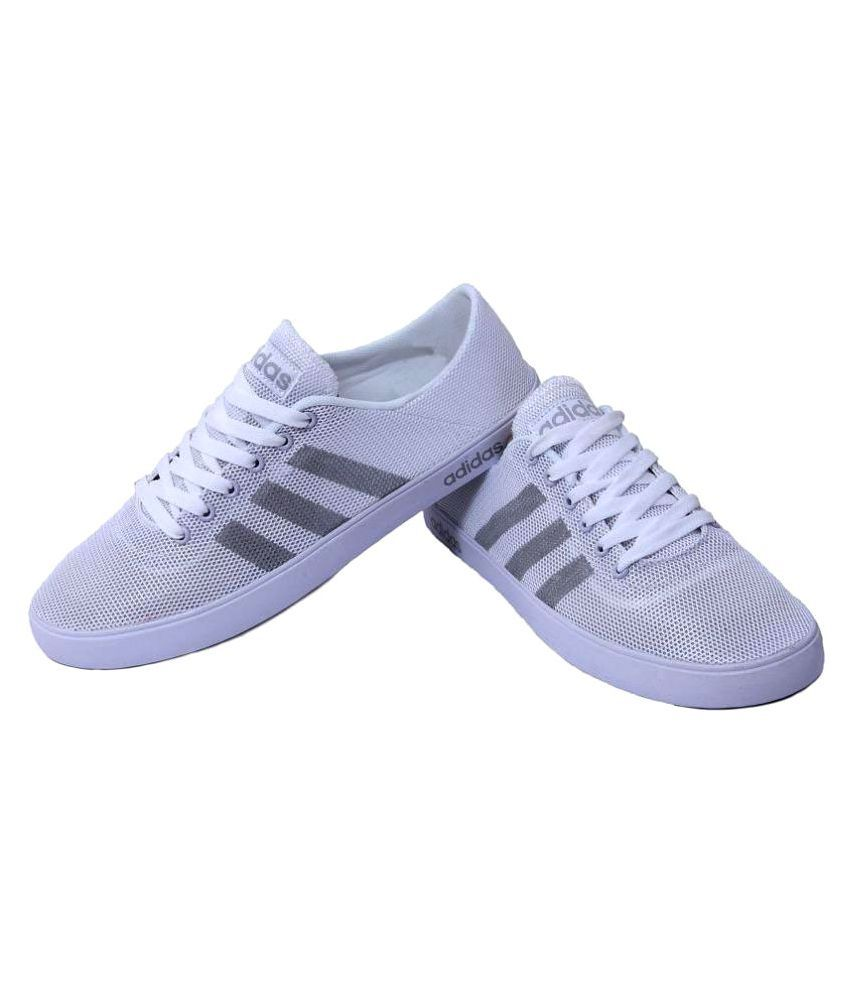 Adidas Neo White Casual Shoes