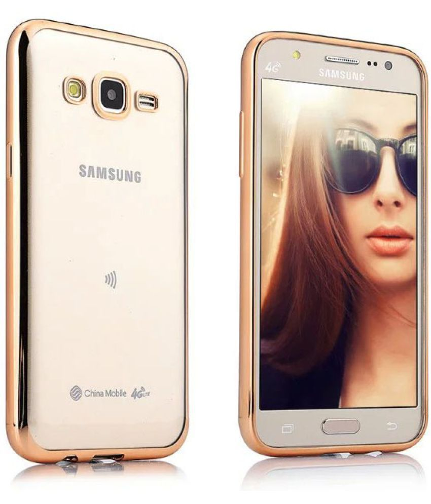 Samsung Galaxy J7 Prime Cover by Galaxy Plus - Golden