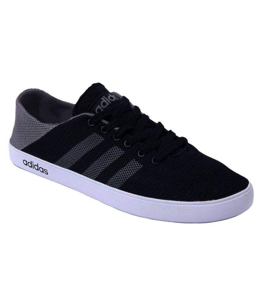 530553807d9 Adidas Neo Black Casual Shoes - Buy Adidas Neo Black Casual Shoes Online at Best  Prices in India on Snapdeal