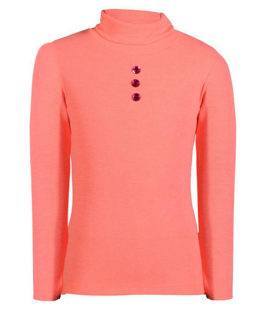 Bio Kid Pink Cotton Blend Sweatshirt