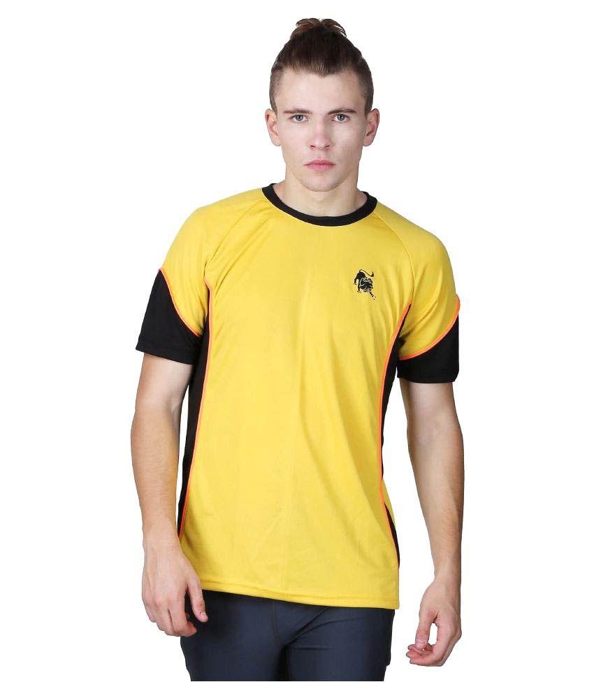 L'appel Du Vide Yellow Polyester T-Shirt Single Pack