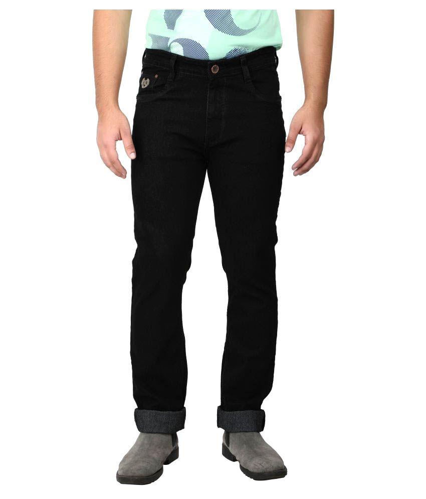 Asaba Black Regular Fit Jeans