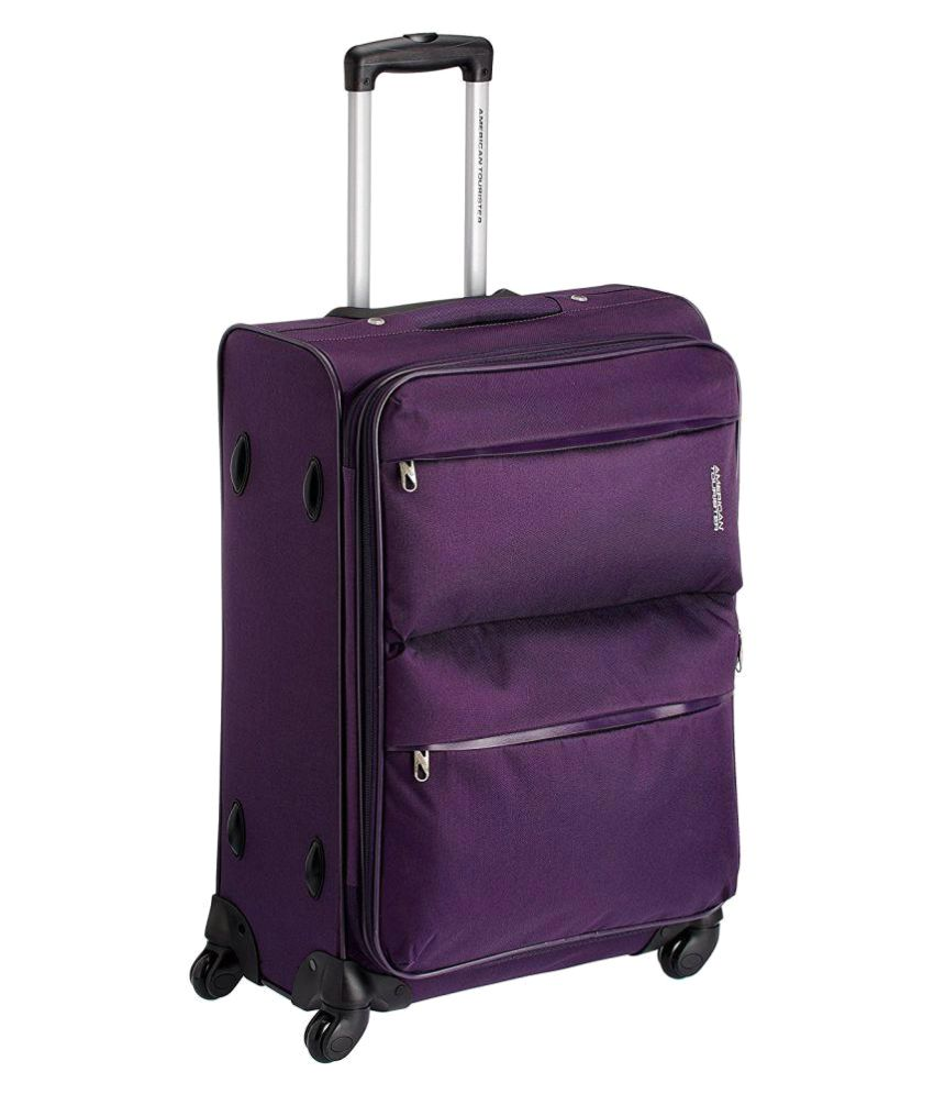 american tourister purple s below 60cm cabin soft luggage buy american tourister purple s. Black Bedroom Furniture Sets. Home Design Ideas