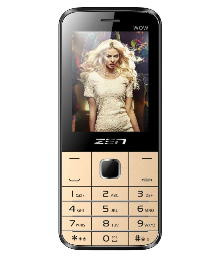Zen M85 WOW 64 MB Black Gold