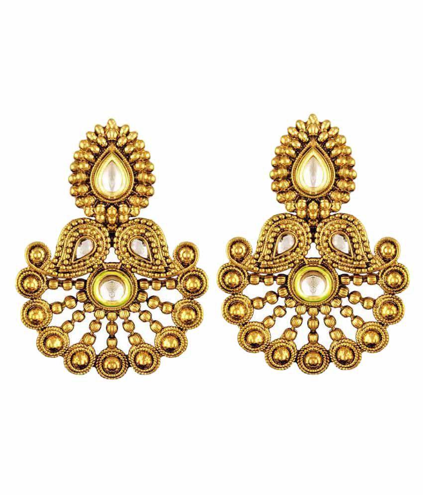 Takspin Golden Earrings