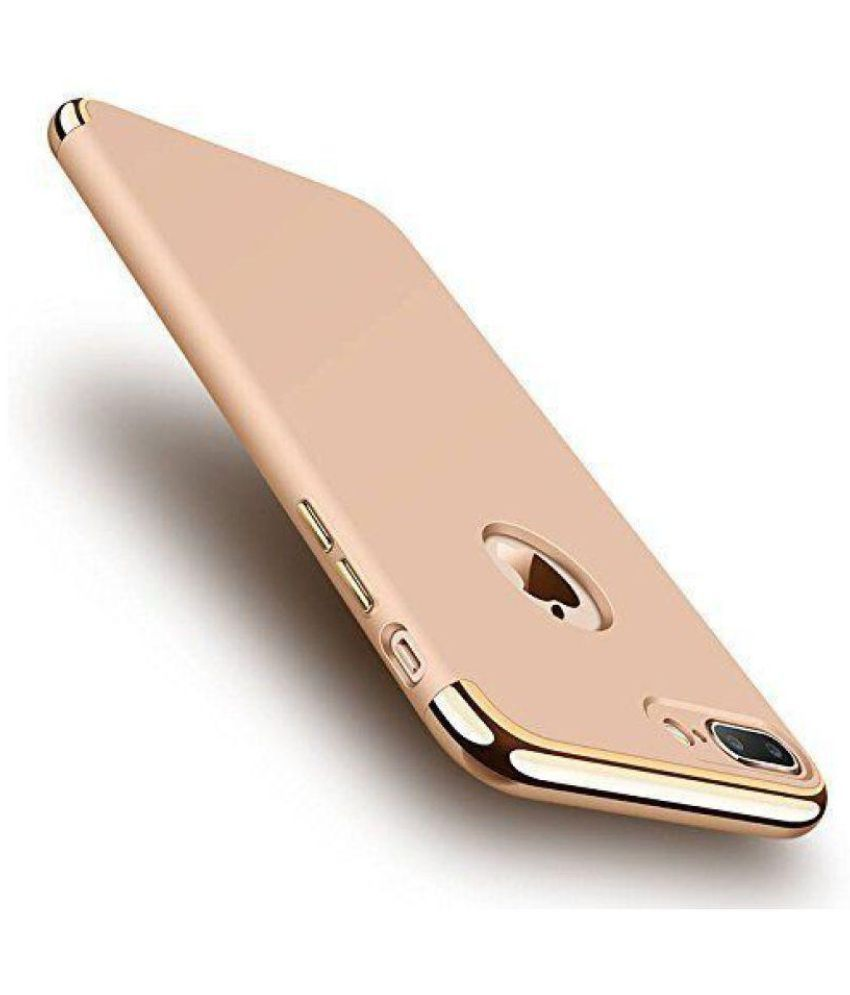 38a4e269ff2 Apple iPhone 7 Plus Cover by Auslese - Rose Gold - Plain Back Covers Online  at Low Prices