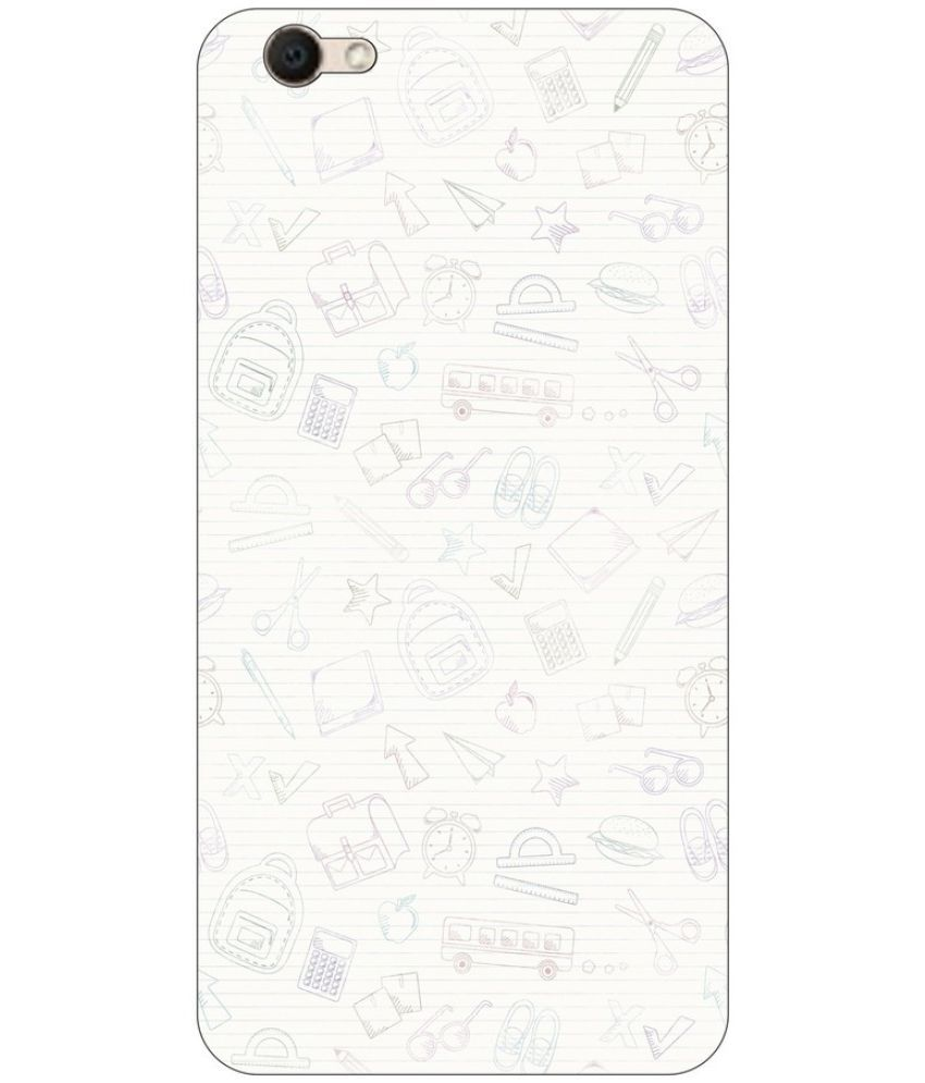Vivo V5 Printed Cover By Go Hooked