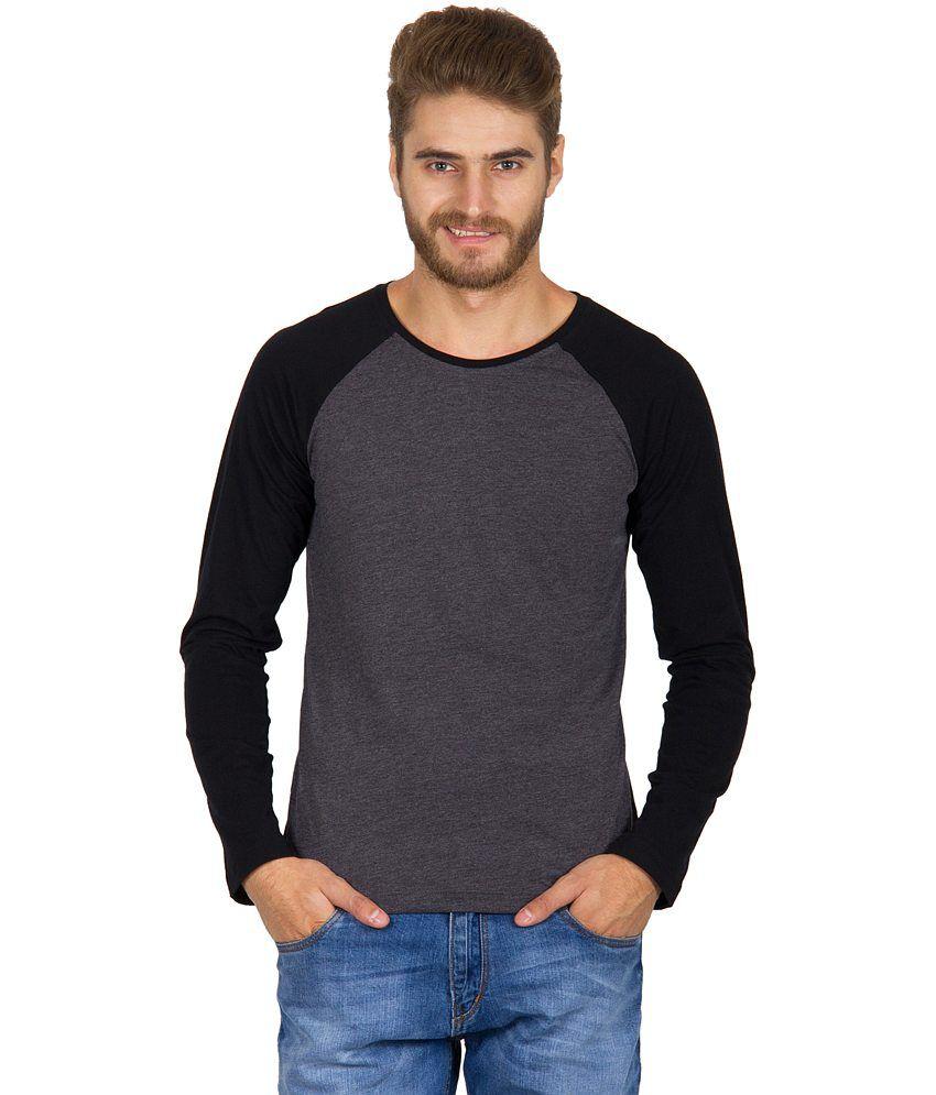 Rigo Charcoal Gray Cotton T-shirt