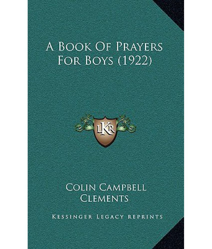 A Book of Prayers for Boys (1922)